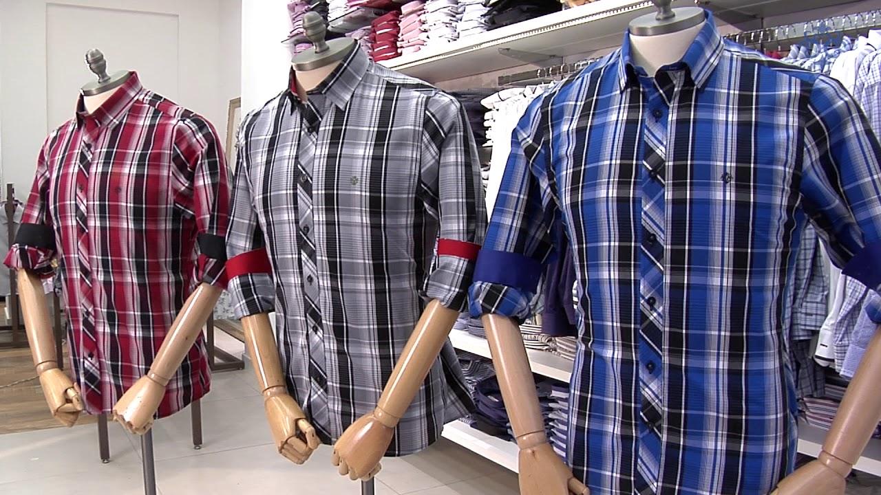 dee8c49f80 Camisas Masculinas Xadrez Coleção Verão 2018 - YouTube