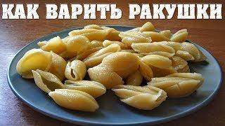 Как варить макароны ракушки или черепашки