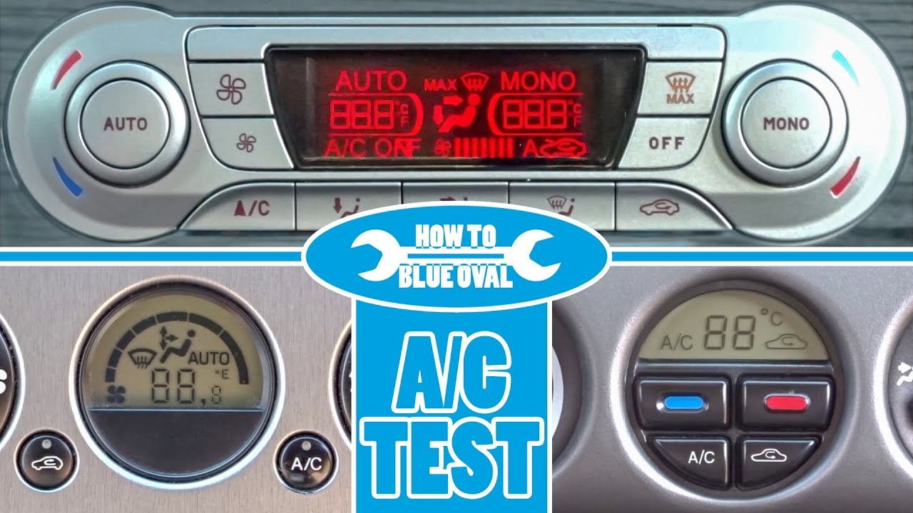 Ford Climatronic - A/C diagnostic, self test & fault codes for: Mondeo,  Focus, Kuga, C-MAX, etc