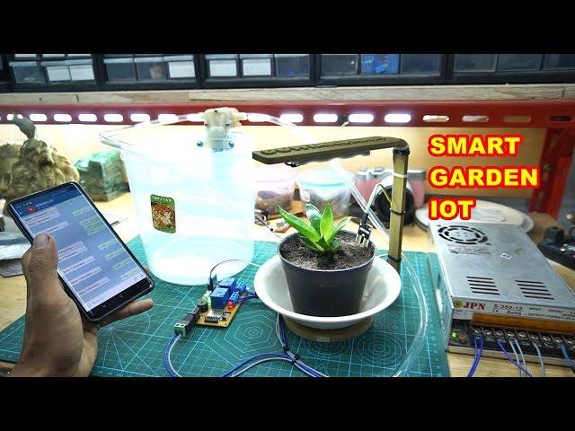 Project IoT Smart Garden - PCBWAY.COM