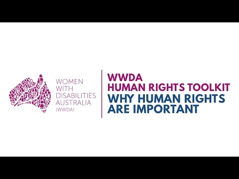 Women with Disability Talk About Human Rights