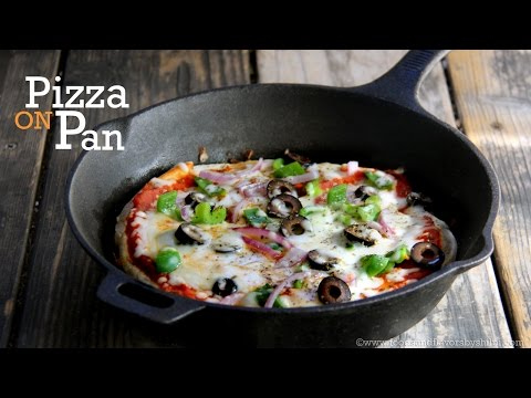 No Yeast, No Oven Pizza Recipe | Pizza Without Oven Recipe by Shilpi
