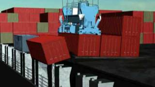 NMSA & OSHA - Longshore Safety Video #4 - Container Falling from Ship