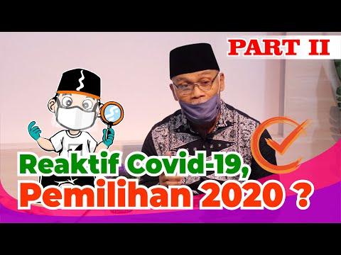 Reaktif Covid-19, ini yang harus dipersiapkan pada Pendataan Pemilih Pemilihan 2020 #ngopi part 2