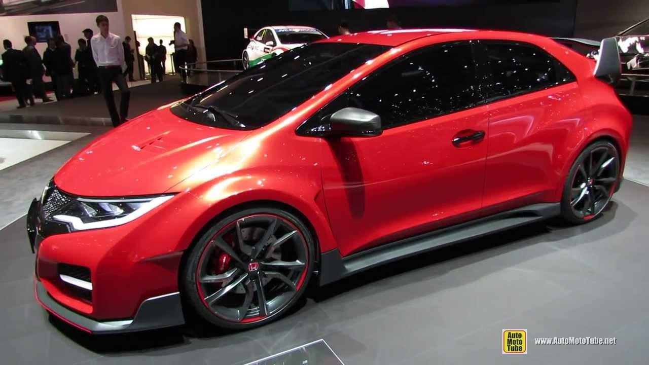 2015 Honda Civic Type R Concept - Exterior Walkaround ...