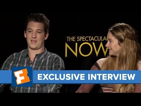 The Spectacular Now Exclusive Interview | Celebrity Interviews | FandangoMovies