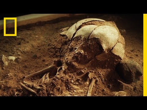 8,400-Year-Old Skeleton of a Baby Found in Germany | National Geographic