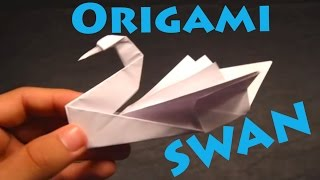 How to Make an Origami Swan (Intermediate) - Rob's World