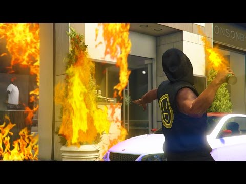 Download GTA 5 Online - TRAPPING PEOPLE ONLINE IN BURNING BUILDINGS! (GTA V Online) Snapshots