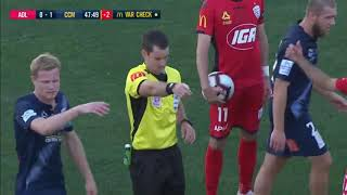 Adelaide United vs Central Coast Mariners 2-1 All Goals & Highlights 27.01.2019