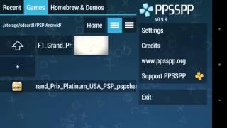 Cara Menjalankan PPSSPP di Android
