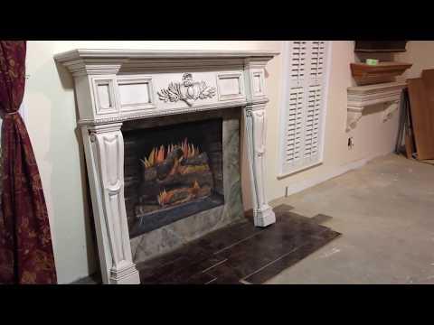 The Boston Mantel (Antique Glaze Finish) - Antique Fireplace Mantels