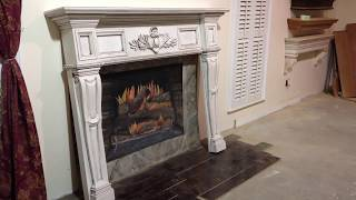 The Boston Mantel (antique Glaze Finish) - Antique Fireplace Mantels