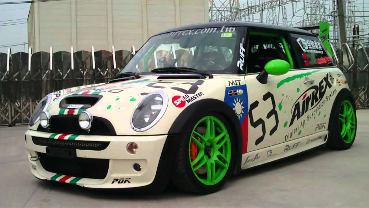 MINI COOPER S R53(TTCC Racing car) with AirREX digital air ...