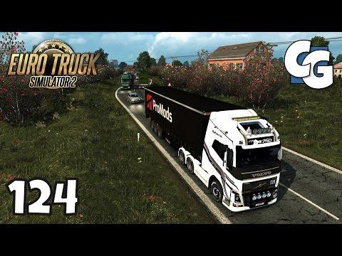 Euro Truck Simulator 2 - Ep. 124 - Entering Project Balkans! - ETS2 Project Balkans 2.3 Gameplay