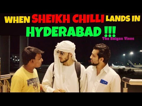 When Shaikh Chilli Lands in Hyderabad l A Comedy Film l The Baigan Vines