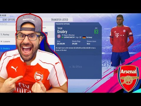 WOW MOST EXPENSIVE ARSENAL TRANSFER EVER!! FIFA 19 CAREER MODE ARSENAL #02 thumbnail