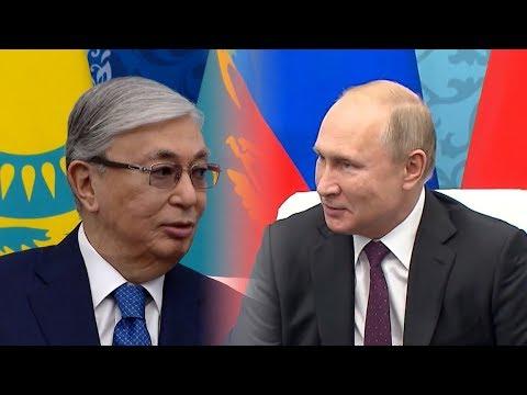 7 ноября Путин и Токаев встречались в Омске.