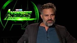 Avengers Infinite War - Itw Mark Ruffalo, Chadwick Boseman and Danai Gurira (CamA) (official video)