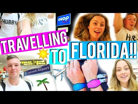 Florida Vlogs: TRAVEL DAY!! ♡ 2017