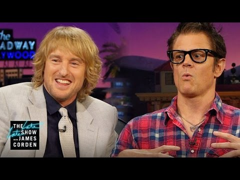 Owen Wilson & Johnny Knoxville on Hanging with Willie Nelson