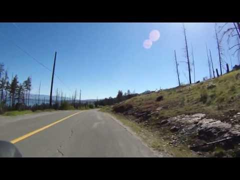Road Cycling down Lakeshore Drive Kelowna B.C May 5 ,2013 part2