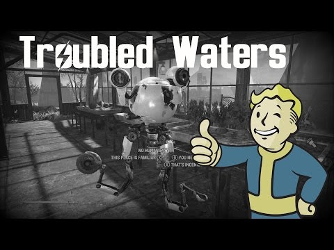 """Fallout 4: Sidequest - Troubled Waters """"Grey Gardens Robot Farm!"""""""
