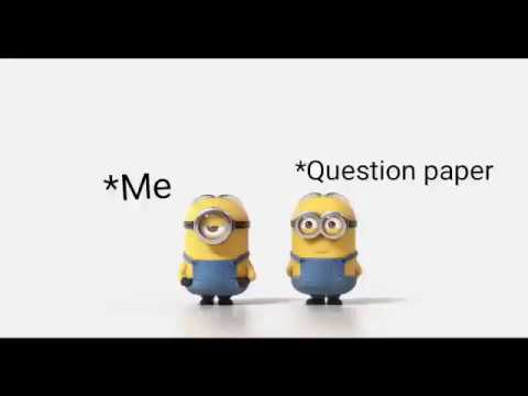 Funny WhatsApp Video Status On Exams