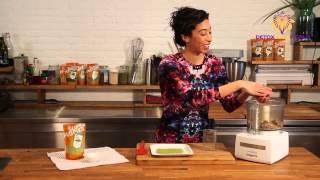 Raw Almond Cookies Recipe With Matcha Tea