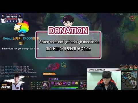 SKT T1 Faker : [no eng sub] December 19th, stream highlight [ Faker's Talk ]
