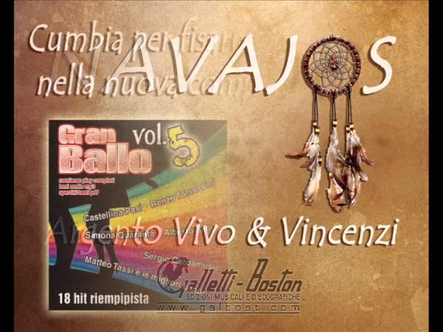 NAVAJOS (cumbia) -  Argento Vivo & Orchestra Vincenzi