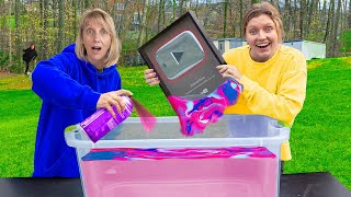HYDRO DIPPING Stephen Sharer YOUTUBE PLAY BUTTON !!!($10,000 Challenge)