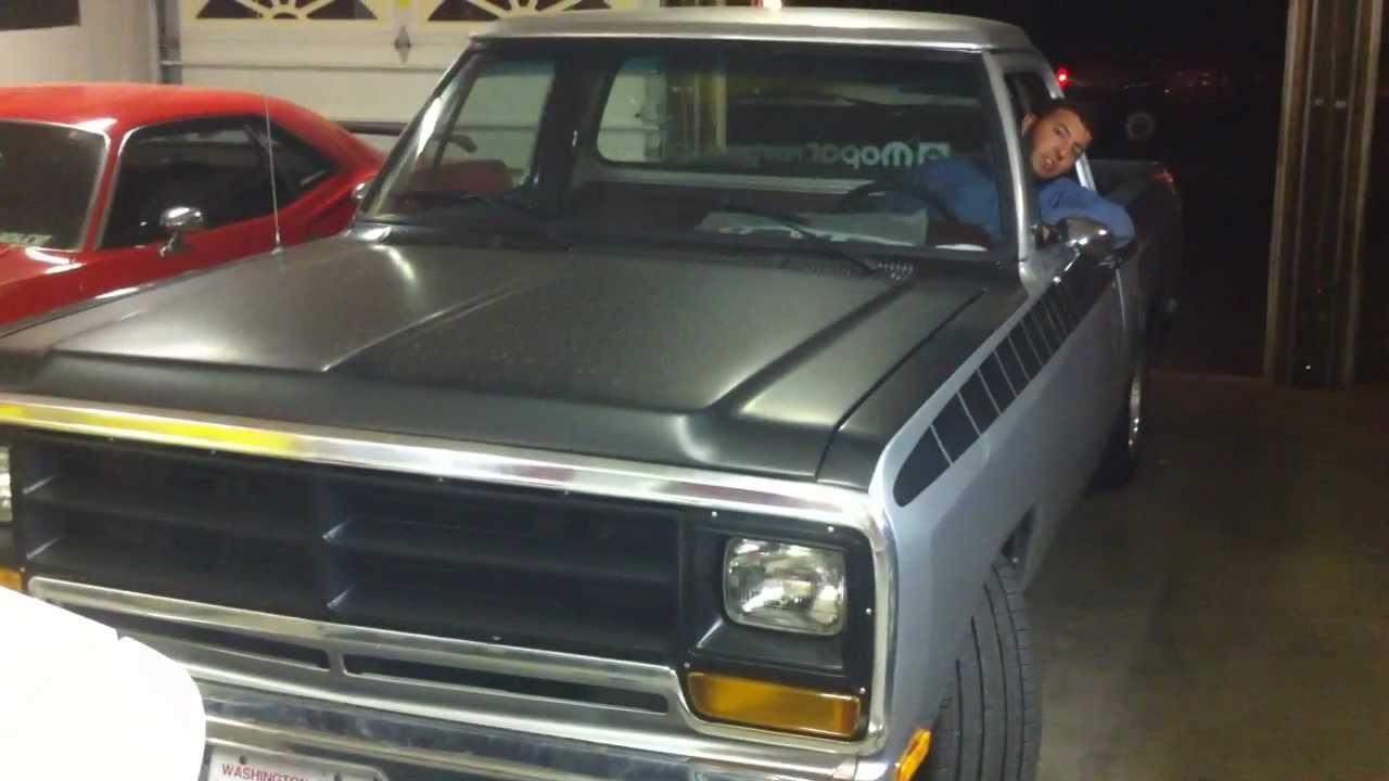 89 Dodge D150 Exhaust