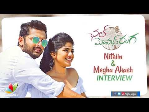 Nithiin and Megha Akash funny chit chat about Chal Mohan Ranga