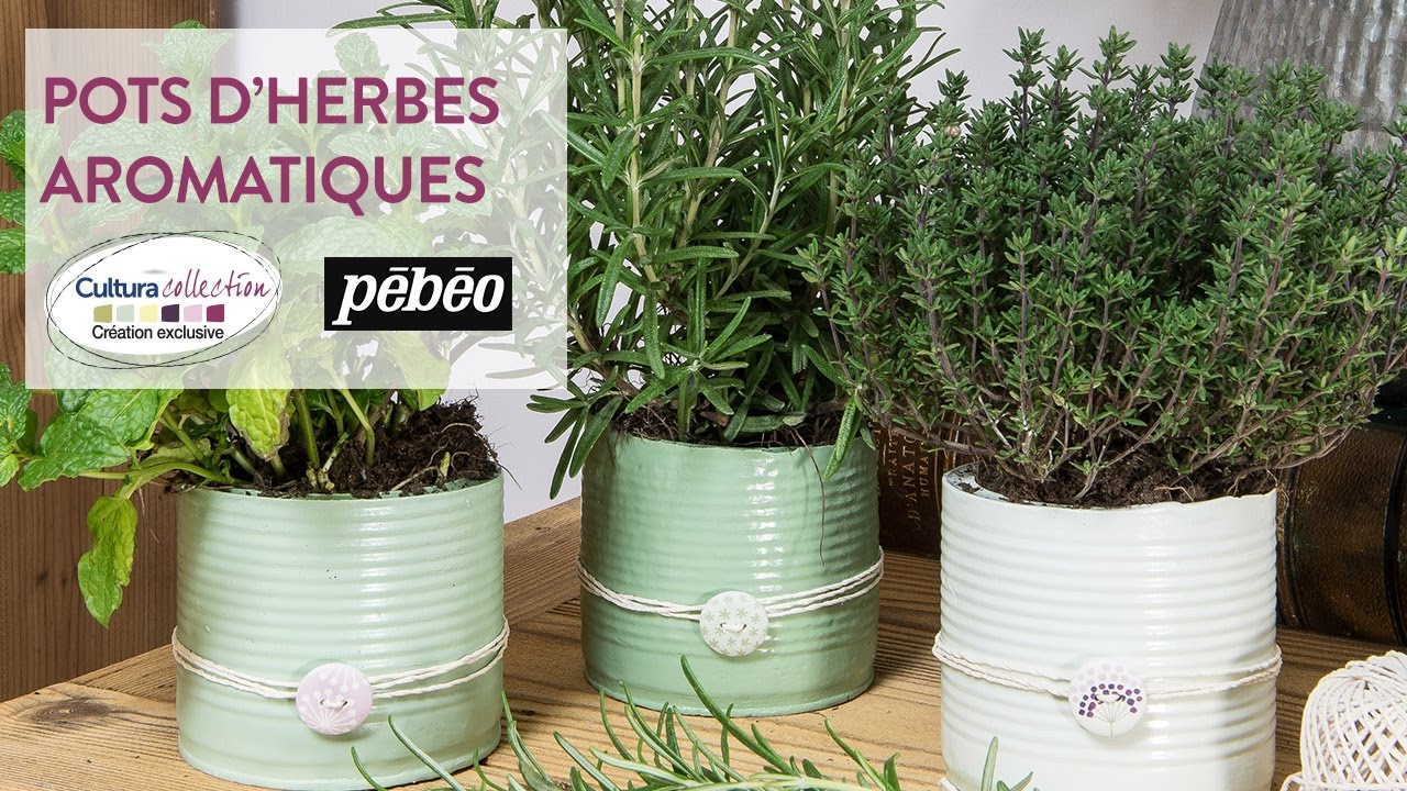 tuto diy pots d 39 herbes aromatiques en pl tre botanique nature youtube. Black Bedroom Furniture Sets. Home Design Ideas