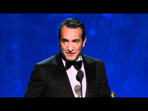 Jean Dujardin Wins Best Actor: 2012 Oscars