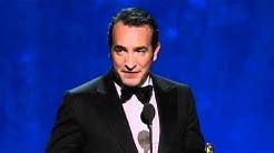 Jean Dujardin Wins Best Actor: 2012 Oscars