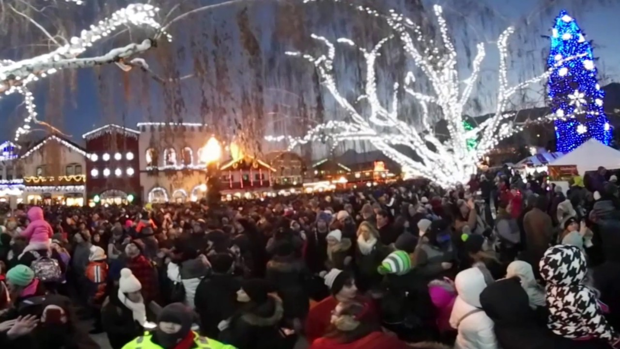 Leavenworth Christmas Lights.2016 Leavenworth Christmas Lighting 360