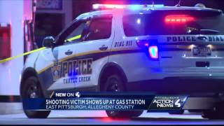 Shooting victim found near East Pittsburgh gas station