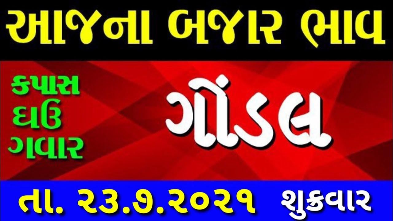 Commodity price 23.7.2021 gondal marketing yard na bhav | saurashtra ajna bajar bhav |commodity rate