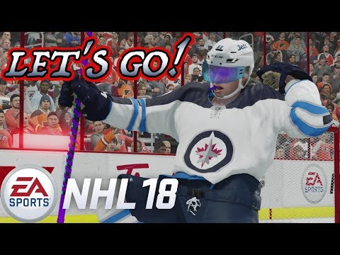 FIRST NHL GOAL! - NHL 18 Be a Pro #37 [Sniper]