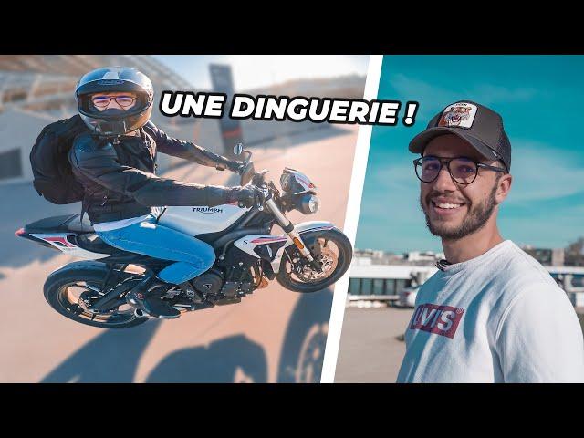 Il achète sa première moto ! 🔥