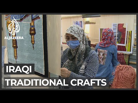 Iraq's traditional crafts at risk of vanishing