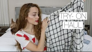 FOREVER 21 CLOTHING HAUL | & A Thunder Storm