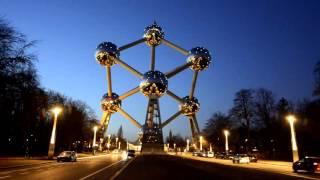 видео Атомиум, достопримечательность Бельгии