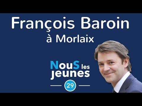 François Baroin à Morlaix - 03/10/2016