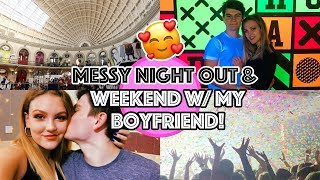 A MESSY UNI NIGHT OUT & WEEKEND IN LEEDS WITH MY BOYFRIEND!