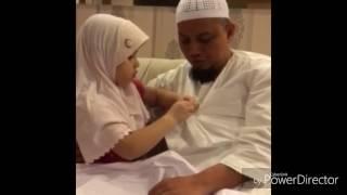 Kemesraan Ustadz Arifin Ilham dengan Putrinya