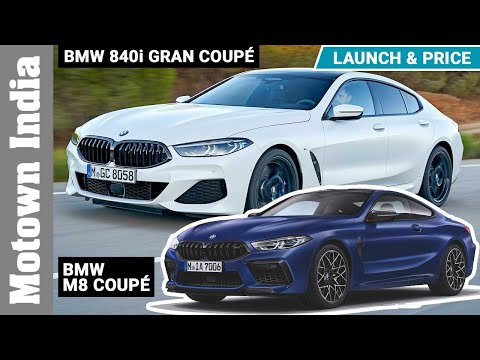 BMW 8 series launched in India at Rs 1.30 crore onward | Motown India