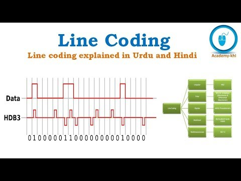 Line Coding in Urdu and Hindi